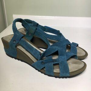 Merrell Revalli Cross Suede Wedge Sandal